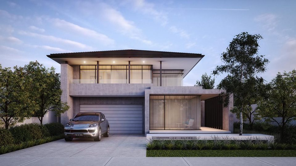 house rendering melbourne
