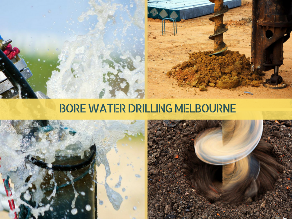 Bore water drilling Melbourne