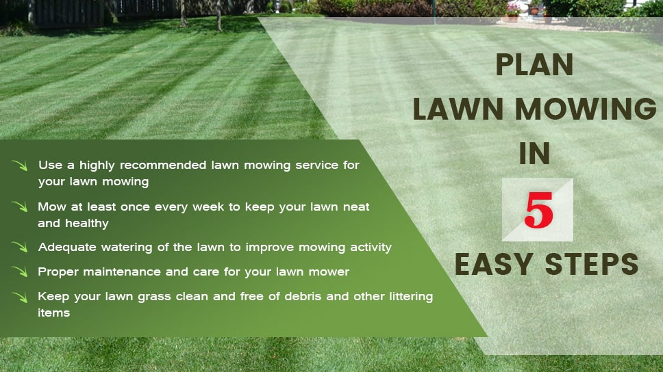 How to Plan lawn mowing in 5 Easy Steps