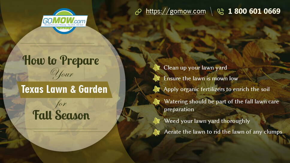 How to Prepare Your Texas Lawn and Garden for Fall Season