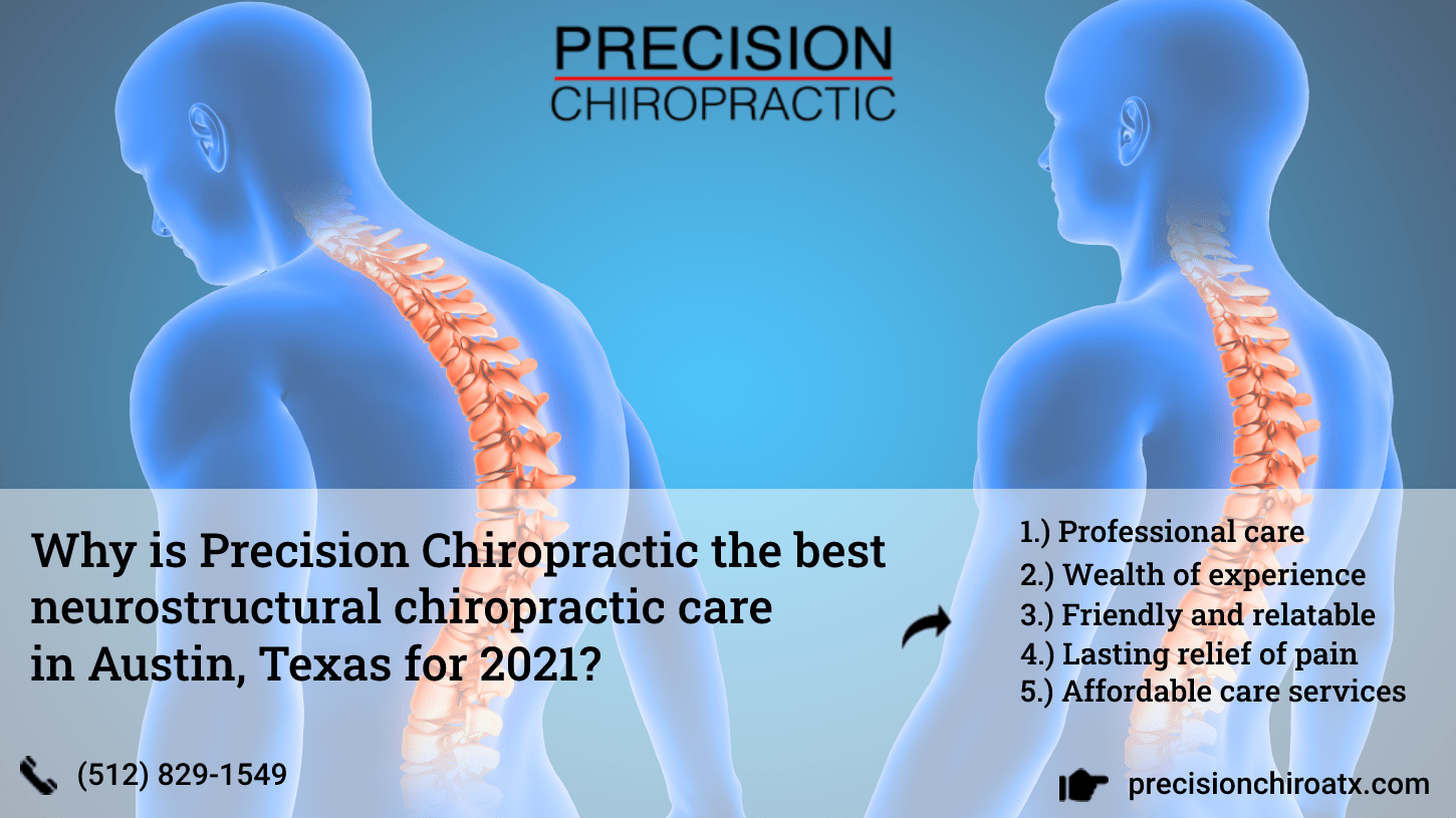Why is Precision Chiropractic the best neurostructural chiropractic care in Austin, Texas for 2021 -min